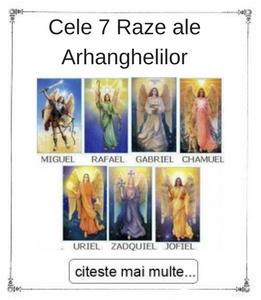 Cele 7 Raze ale Arhanghelilor initieri