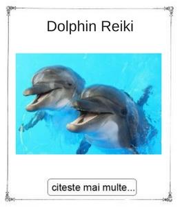 Dolphin Reiki initieri