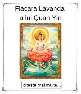 Flacara Lavanda a lui Quan Yin initieri