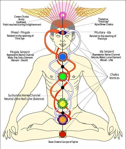 Practici zilnice - Cum facem purificarea celor trei meridiane/nadisuri divine?